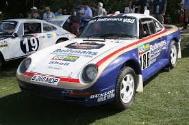 porsche 959 rally the 10 coolest cars at the 2015 amelia island concours