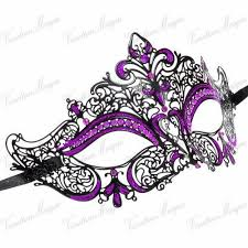 purple masquerade mask 17 best mardi gras masks images on peacock feathers