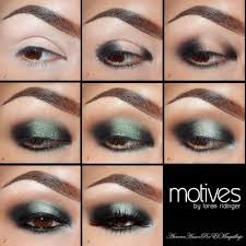 pictorial magical makeup tutorial with motives
