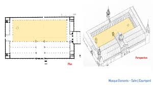 floor plan of mosque islamic architecture by dxx building analysis the umayyad mosque