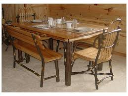 Hickory Dining Room Table by Dining Table Sets Amish Dining Furniture By Brandenberry Amish