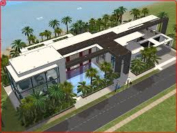 Modern Beach House Sims 2 Modern Beach House By Ramborocky The Sims House Plans