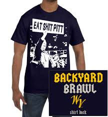 eat pitt in the nostalgia brawl navy tee fastees com