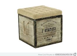 Diy Storage Ottoman Cube Store Treasures In 20 Cube Storage Ottomans Home Design