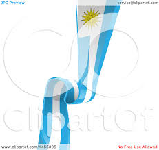 Flag Uruguay Clipart Of A Vertical Uruguay Ribbon Banner Flag Royalty Free