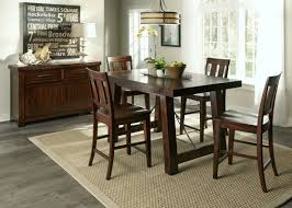 Extended Dining Table by Loon Peak Haloke Counter Height Extendable Dining Table U0026 Reviews