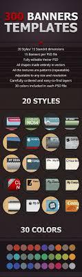 cara membuat desain x banner di photoshop 300 psd banner templates