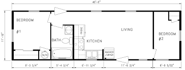 Floor Plan Of A 2 Bedroom House 2 Bedroom 14 X 70 Mobile Homes Floor Plans Floor Plans