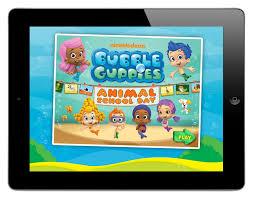nick u0027s u0027bubble guppies u0027 app hits spot animation magazine