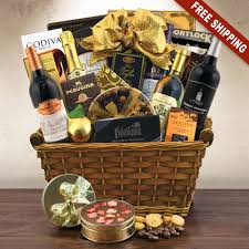 Champagne Gift Basket Giant Statement Wine U0026 Champagne Gift Basket Capalbos Gift Baskets