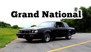 regular car reviews 1986 buick grand national youtube