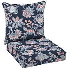 hampton bay caprice stripe 2 piece deep seating outdoor lounge