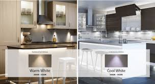 cool white lights warm it up cool it down the kitchen think