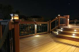 solar deck lights amazon low voltage deck lighting 3 watt architectural black integrated led