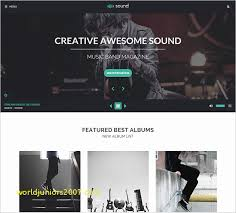 Top Result Wordpress Music Templates Best Of 21 Music Blog Themes Themes Templates
