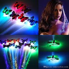 Luminous Led Light Bulbs by Luminous Led Butterfly Braid Hairpin Lightup Hair Braid Led