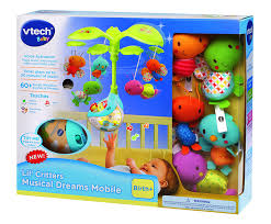 How To Keep Cats Out Of Baby Crib by Amazon Com Vtech Baby Lil U0027 Critters Musical Dreams Mobile Toys