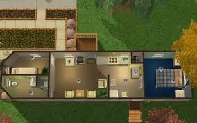mod the sims dodge court trailer home starter home with very