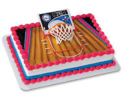 nba philadelphia 76ers slam dunk decoset cake design cakes com