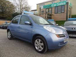 nissan micra 2004 used blue nissan micra for sale devon