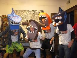 Shark Costume Halloween Create Halloween Costume Tape Sculpture 10 Steps