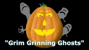 halloween pumpkin light grim grinnin u0027 ghosts