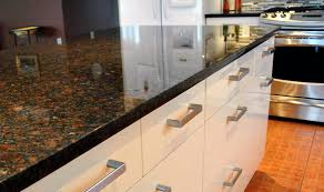 brown granite countertops with white cabinets coffee brown granite