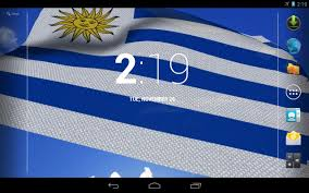 Flag Uruguay 3d Uruguay Flag Live Wallpaper Android Apps On Google Play