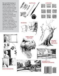 pen and ink drawing a simple guide alphonso dunn 9780997046533
