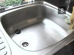 how to get stainless steel sink to shine how to make a kitchen sink shiny and clean youtube