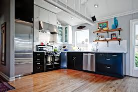 Durable And Stylish Metal Kitchen Cabinets  Optimizing Home Decor - Metal kitchen cabinets