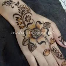 latest finger mehndi designs lotus henna tattoo mahndi desgin