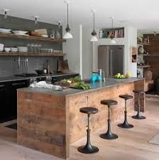 meuble de cuisine en palette meubles cuisine en bois de palette idées décoration intérieure