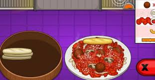 papa louie cuisine papa s pastaria play it now at coolmath com