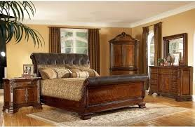 King Size Bedroom Sets Bedroom Design Ideas - Grande sleigh 5 piece cal king bedroom set