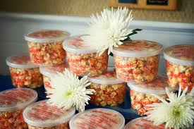 popcorn wedding favors johnson s popcorn favors gifts city nj weddingwire