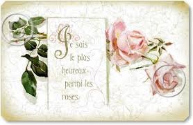 Shabby Chic Rose by French Roses Wall Plaque Fairy Freckles Com