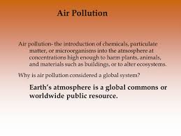 chapter 15 air pollution and stratospheric ozone depletion ppt