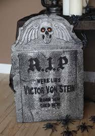 gravestone halloween decorations rip gravestone graveyard halloween decorations