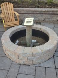 Fire Pit Kit Stone by Stone Fire Pit Kit Fire Pit Ideas