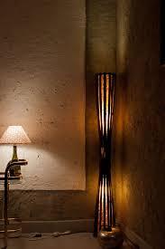 Home Decorating Lighting Floor Lamp Wood Bamboo Lamp Bamboo Furniture Rustic Furniture