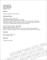 Life Insurance Resume Samples by Professional Medical Claims Examiner Templates To Showcase Your