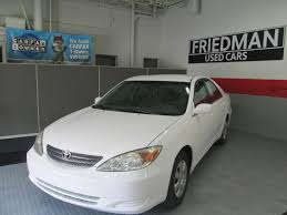 2002 toyota cars 2002 toyota camry le for sale at friedman used cars bedford