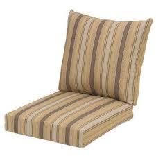 hampton bay stripe lounge chair cushions outdoor chair