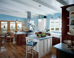 blue cabinets in kitchen blue kitchens with white cabinets white wooden diamond shelves