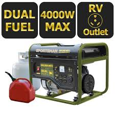 sportsman 4000 watt dual fuel powered portable generator page 4
