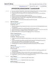 The Best Resume by Warehouse Supervisor Resume The Best Resume