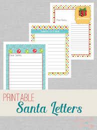 printable santa letters to santa santa letters png