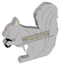 Woodworking Plans Pdf by 05 Wp 039 Squirrel Downloadable Scrollsaw Woodworking Plan Pdf