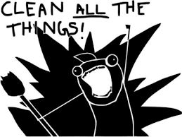 All Of The Things Meme - all the things internet meme vinyl decal sticker